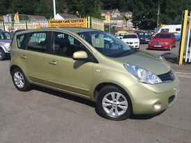 NISSAN NOTE 1.6 16v Acenta 5dr Auto (gold) 2009