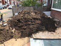 Soft top soil