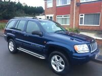 Jeep Grand Cherokee 2.7 CRD XS 4x4 5dr£2,399 great condition & drive 2005 (05 reg), SUV