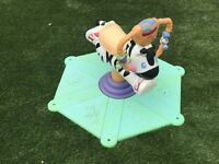 Fisher Price bounce and spring zebra - no electrics