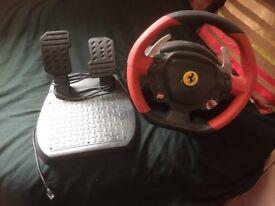 Ferrari steering wheel Xbox one