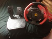 Ferrari steering wheel Xbox one