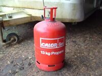 Calor Gas 'Empty' 13kg Propane gas bottle, can be delivered