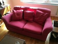 Ikea 3-seater sofa, with removable, washable covers