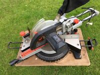"""10"""" Compound Sliding Mitre Saw (with laser precision)"""