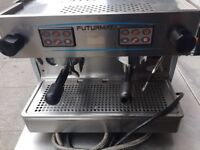 COMMERCIAL CATERING 3 PHASE COFFEE ESPRESSO MACHINE CAFE KEBAB CHICKEN RESTAURANT FAST FOOD KITCHEN
