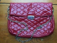 FRENCH CONNECTION LADIES RED HANDBAG