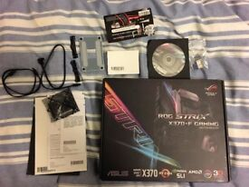 Asus Strix X370-F AM4 Motherboard.