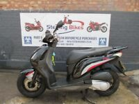 HONDA PS 125cc BLACK COLOUR EXCELLENT CONDITION MODEL 2008