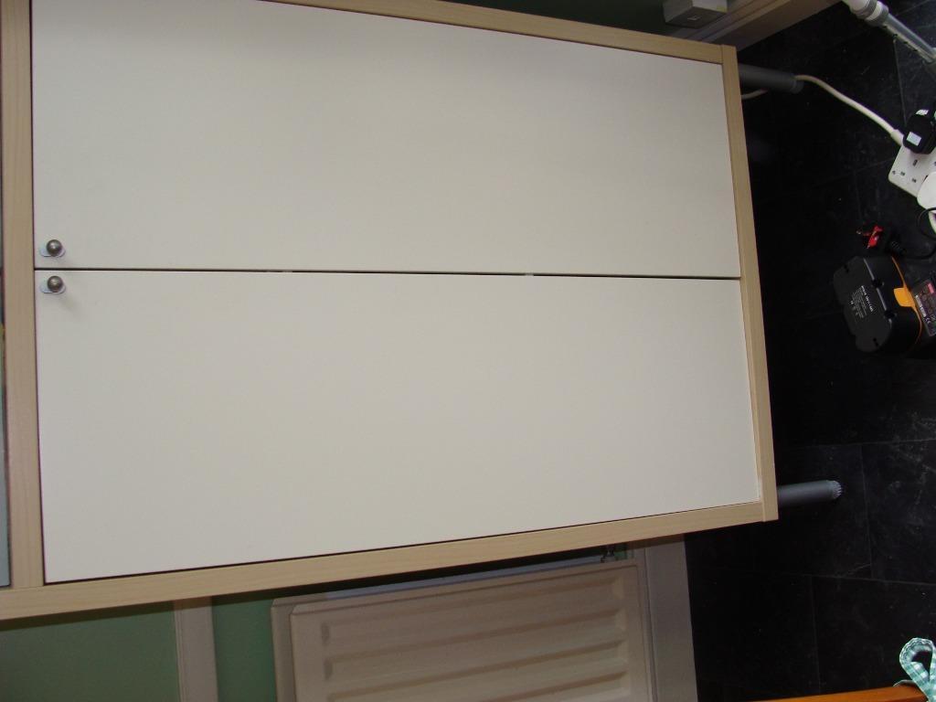 A large ikea magiker storage unit in bedlington for Ikea storage bin unit
