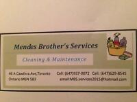 We clean your place !!