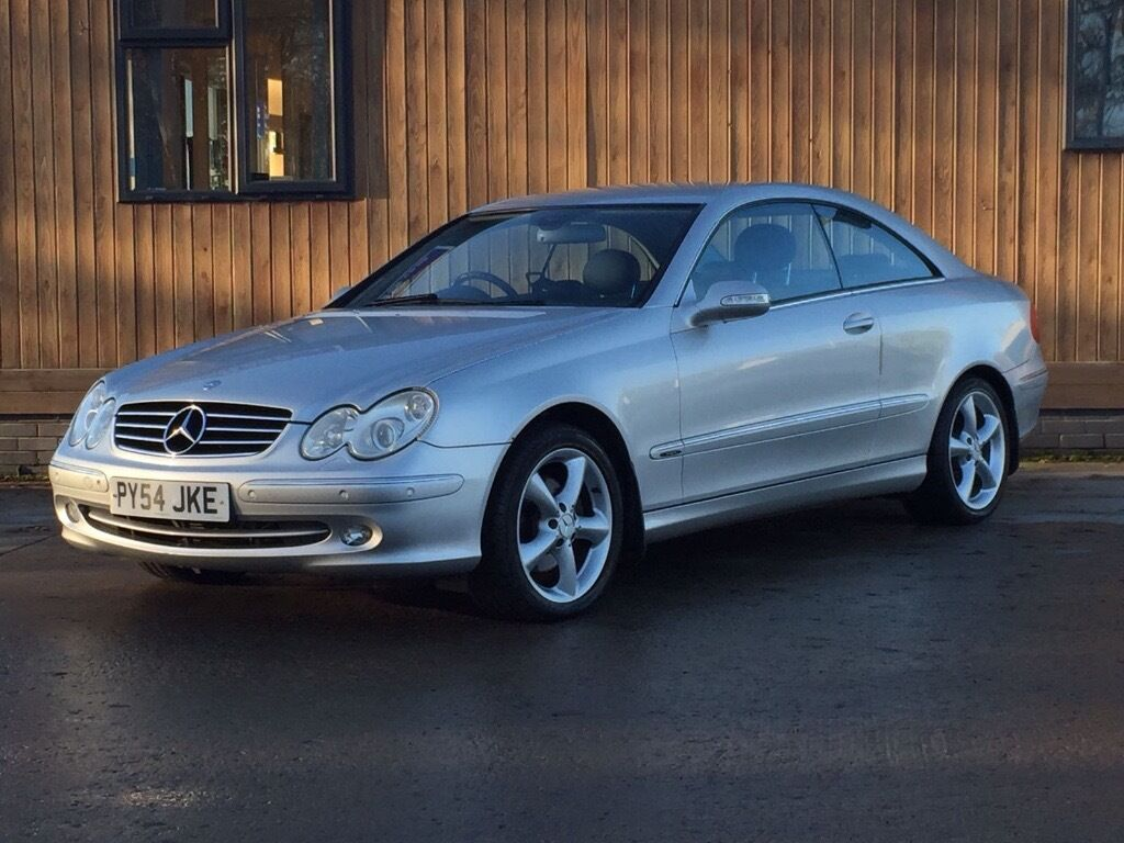 Mercedes CLK320 Avantgarde Automatic Coupe, FULL Service History HUGE Spec (see below)