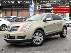 2010 Cadillac SRX ACCIDENT FREE! LEATHER! WE FINANCE