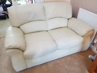 3 X 2 seater sofa's. Italian made Dolce Vita leather sofa's. Good condition as little usesd