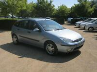 Ford Focus ZETEC 2004 (blue) 2004
