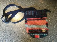 ROXY cross body bag with adjustable strap. IMMACULATE CLEAN CONDITION.