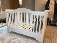 Belle Maison white Cot Bed