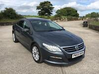 2009 Volkswagen Passat CC 2.0 Tdi Cr 140 Bhp 6 Speed 51k Miles. Finance Available