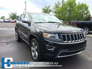 2016 Jeep Grand Cherokee Limited **TOIT+ CAMERA + GPS + WOW!!