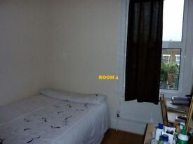 Double bed in 6 rooms flat at Springfield rd Street in London - Room 4 (Ref. SF001580)