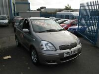 2005 55 TOYOTA YARIS 1.3 COLOUR COLLECTION BARGAIN!!!!!!