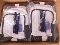 60 Wholesale Joblot Bulk Shoulder bags, unisex mini report, Black and White shoulder bag