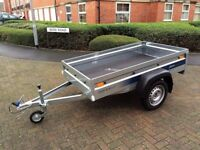 Brand new Faro Pondus car box trailer