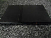 PLAYSTATION 2 SLIM CONSOLE WITH 15 GAMES