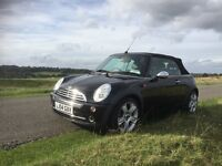 This is a lovely example of the Mini Cooper convertible