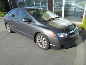 2010 Honda Civic EX-L 5-SPEED W/ LEATHER - ONLY 62K