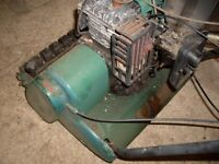 Lawnmower suffolk punch 35S with grass box lawn mower with roller