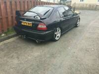 Honda Civic MB2 1.4i sport 5 Door black MOT till Aug 2017