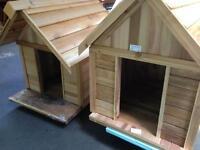 Dog houses 3 sizes lg  $275  XL $299 XXLG $399 insulated / cedar