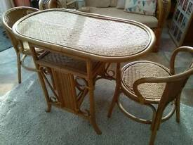 Bistro table & 2 chairs ( price reduced from £15)