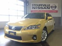 2012 Lexus CT 200h Leather Seats and Alloy Wheels.