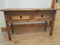 Mexican pine sideboard table