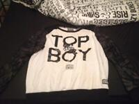 XL Top Boy jumper barely used