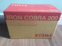New TAMA Iron Cobra 200 Single Pedal