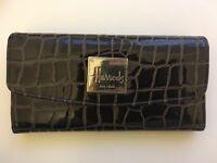 Harrods Dark Brown Purse/Wallet (Trifold)