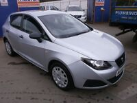 2008 SEAT IBIZA 1.2 S 5DOOR, HATCHBACK, FULL SERVICE HISTORY, CLEAN CAR, DRIVES LIKE NEW, HPI CLEAR