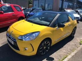 CITROEN DS3 1.6 DSTYLE PLUS 3d 120 BHP (yellow) 2012