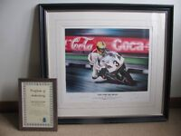 Joey Dunlop Limited Edition Print