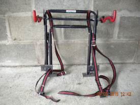 Rear mount bike carrier