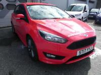 Ford Focus 1.0 EcoBoost 125 ST-Line 5dr (race red) 2017
