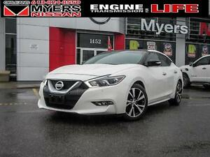 2016 Nissan Maxima SL, NAVI, LEATHER SEATS, PANO ROOF!! NICE CAR