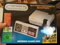 NES mini classic ready in hand brand new