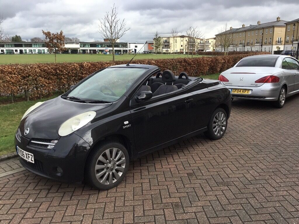 nissan micra c c sport convertible 2006 in ipswich. Black Bedroom Furniture Sets. Home Design Ideas