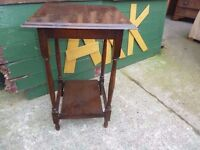 Hall wood Telephone Table Delivery Available £10
