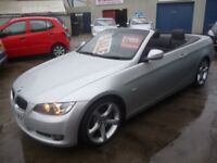 Great looking BMW 325i SE Auto,hard top convertible,FSH,full heated leather interior,low mileage 65k