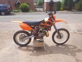 Ktm 200 exc 2002